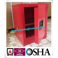 Flame Proof 4 Gallon Paint Storage Cabinets For Corrosive Combustible Liquid Manufactures