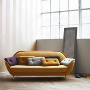 Fabric Cover Jaime Hayon Favn Sofa , Metal Foot Replica Living Room Modern Sofa Manufactures