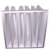 China Aluminum alloys frame Washable Pocket hepa air filter F5 pocket filter, ac air filter for  precise instrument on sale