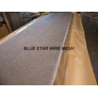 Square Wire Mesh Mist Eliminator Stainless Steel / MONEL Demister Pad In Air Conditioner Manufactures