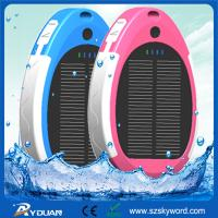 China IPX6 Waterproof Solar mobile phone charger with Universal Bracket, CE/RoHS/FCC Mini Solar on sale