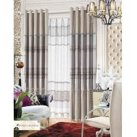 China Polyester Jacquard Window Curtain Luxury Ready Made Curtains for Hotel , Cafe , Office , Club on sale