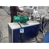 Plastic Pipe Extrusion Line , PE Hot And Cool Water Pipe Production Line Manufactures