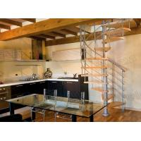 Solid Wood Spiral Staircase Manufactures