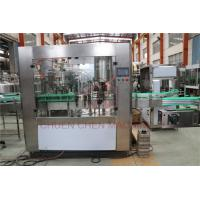 3000bph Carbonated Soft Drink Beer Filling Machine For Pet Bottles , Long Life Manufactures
