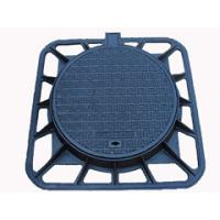 ductile iron D400 water square manhole cover and frame Manufactures