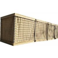 China Hot Dipped Galvanized Military Mesh Gabion Box Wall 5.0 Mm Mesh Wire on sale