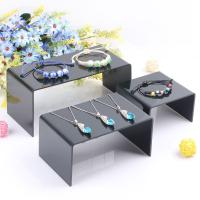 Cheap Clear Plexiglass / Acrylic Jewelry Display Stand Can Print Logo Manufactures