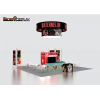 Fashion Backlit Trade Show Booth Display Stands 10x10 Portable Exhibition Systems Manufactures