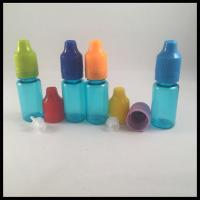 Industrial PET Dropper Bottles 10ml Custom Logol Printing Food Grade Durable
