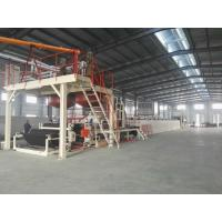 Quality Automatic Tile Production Line / Bitumen Backed Carpet Tiles Water - Cooling for sale