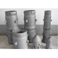 SISIC Silicon Carbide Parts Immersion Radiation Tube Flame Tube ISO 9001 Approved Manufactures