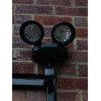 100W off grid solar powered street Security lights with Fiber composite plastics Manufactures