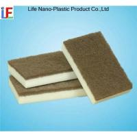 Magic Sponge with Scouring Pad Manufactures