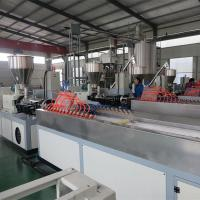 China Stainless Steel Stand Column Profiles WPC Profile Machine WPC Profile Production Line on sale