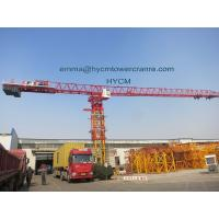 QTZ315 Flat Top Tower Crane 75M Boom 3.2t Tip Load to UAE Market Manufactures
