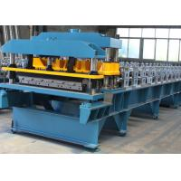 Steel Roofing Sheet Roll Forming Machine PPGI GI IBR Trapezoid , Roof Sheet Rolling Machines Manufactures