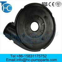 Buy cheap Slurry Pump Spare Parts Frame plate liner from wholesalers