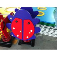Quality Anti Crack Spring Rockers Playground Equipment With PE Board Lion for sale