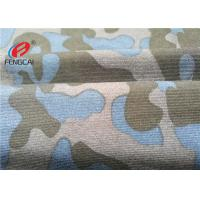 Military Camouflage Uniform Printing Polyester Spandex Fabric For Making T - Shirts Manufactures