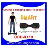 Ouchuangbo Smart Self Balancing Electric Scooter wiht small Daul Wheels OCB-XX10 Manufactures