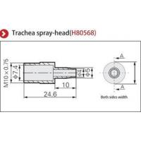 Replacement Nozzle Ionizer Accessories / Trachea Spray Head CE & SGS Approval Manufactures