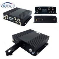 4 Channel Vehicle WI-FI Video / Audio SD Card DVR Camera System with Bus Router Manufactures