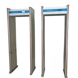 8 Zones Walk Through Metal Detector Humanoid Alarm Indicator Door Frame Light Alarm Manufactures