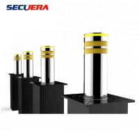 Automatic Rising Electric Hydraulic Stainless Steel Bollards with LED Light Manufactures