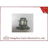 Silver Brass Electrical Wiring Accessories Aluminum Cable Clamp UL Listed Manufactures