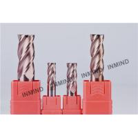 Carbide  End Mill , 18-14mm  4 Flute , TiSiN Coating ,  upto HRC55 , carbide cutter Manufactures