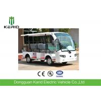 Electric Shuttle Car Open Top Sightseeing Bus 72V 5KW Electric Used Hotel Buggy Car Manufactures