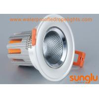 China Durable Tiltable 7 watts LED Downlight , Anti Glare Round LED Downlight For Street on sale