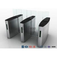 Stainless Steel Access Control Turnstiles , Sliding Turnstile Security Systems Manufactures