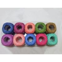 China 100% Cotton Blend Yarn / cotton 10g ball thread for knitting on sale