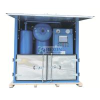 Water Proof Type Onsite Power Station Use Electric Insulating Oil Purifier Machine 9000Liters/Hour for sale