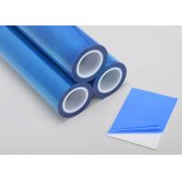 Blue Self Adhesive Pe Protective Electrostatic Film For ABS Sheet Manufactures
