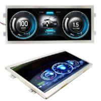 Stretched Lcd Display Screen 12 Inch , Custom Lcd Display Ultra Wide Screen For Bar Manufactures