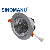 China SMD 2835 LED Recessed Downlights For Shopping Mall Positive Enclosed Fixture on sale