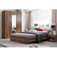 Modern E1 MDF Smooth Melamine Bedroom Furniture King and Queen Size Manufactures
