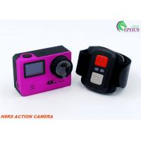 High Resolution 0.95' OLED Remote Control Action Camera Full HD 4K Wifi With 1080P 60fps Manufactures