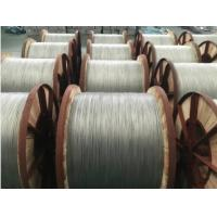 Lb40 Grades Aluminium Clad Steel Single Wire For Acs Strands , ISO9001 Manufactures