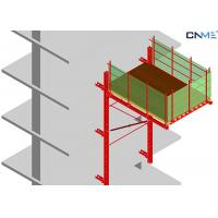 High Efficient Rail Guided Crane Loading Platform To Reposition Table Formwork Manufactures
