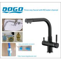 China EU Market hot selling Free lead three way faucet in promotion selling in black ( DG-B3301B) on sale