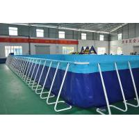 Quality Sturdy Steel Sustain Swimming Pool For Water Storage Excellent Material for sale