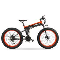 27 Speed Electric Mountain Bike , 26 Inch High Power Electric Bicycle Fat Tire Manufactures