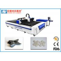 China Mild Steel Metal Fiber Laser Cutting Machine for Ads Lamps Industry on sale
