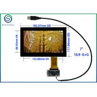 "USB 7"" Capacitive Touch Screen , ITO Glass Cover Lens Multi-Touch Panel For Intelligent Appliances Manufactures"