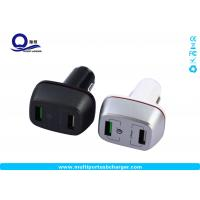 Buy cheap 27W qualcomm quick charge 3.0 samsung car charger Dual small usb for Samsung from wholesalers