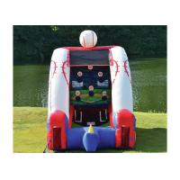 Commercial Grade Inflatable Sports Games Basketball Or Football Game Bounce House Manufactures